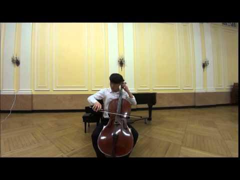 Kodaly Cello Sonata, Op. 8, II. Adagio - Taeguk Mun 문태국