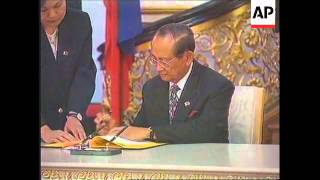 RUSSIA: MOSCOW: PHILIPPINE PRESIDENT FIDEL RAMOS VISIT UPDATE