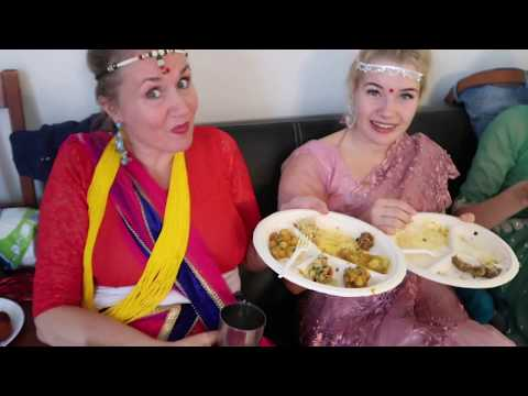 Teej celebration in Finland with Finns - तीज विसेश