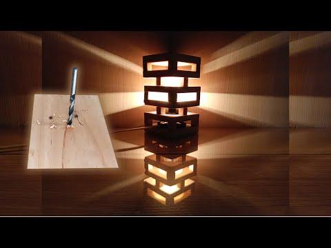 cara-buat-lampu-hias-dari-kayu-jati-belanda