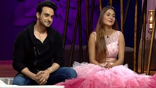 Juzz Baatt - Sara Khan, Angad Hasija Hindi Zee Tv Serial Talk Show Rajeev Khandelwal | Ep - 21
