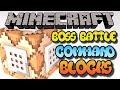 Minecraft Xbox One Command Block Boss Battle Tutorial