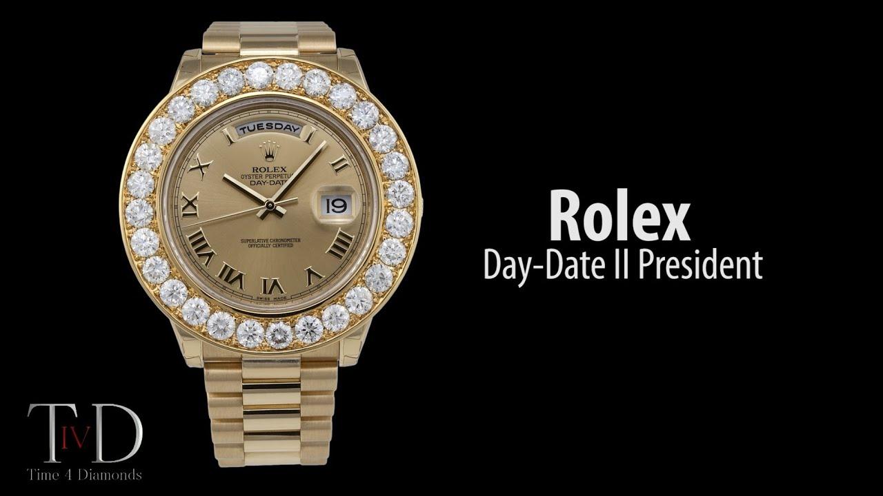 Rolex Day Date Ii President