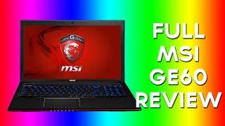 Best Laptop MSI GE60 Review Gaming Laptop