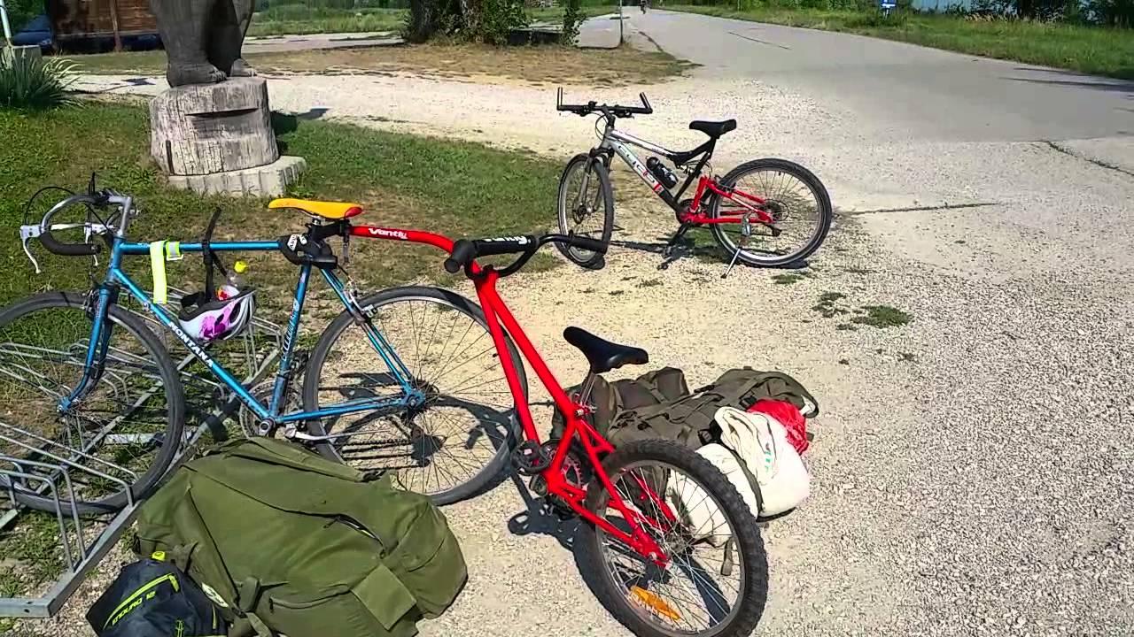 Bici Traino Con Bici Da Corsa Cicloturismo
