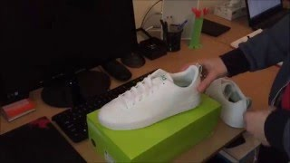 [UNBOXING] adidas NEO Advantage Clean VS White/Green (F99251)