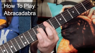 How to Play: 'Abracadabra' Steve Miller Guitar Lesson