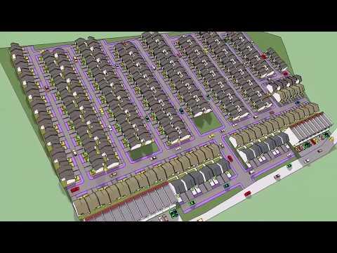Site Plan Perumahan 3D