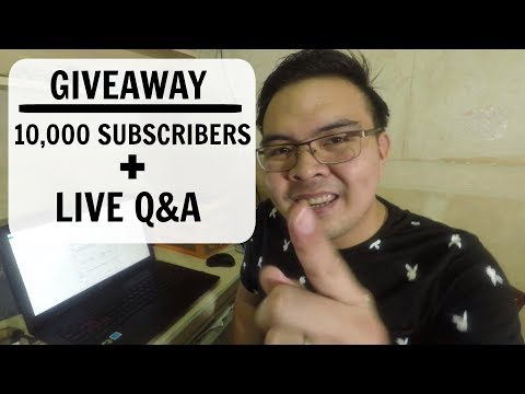 10k SUBSCRIBERS GIVEAWAY + LIVE Q&A About Online Jobs and CASHOUT