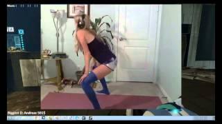 Repeat youtube video Legendarylea Twerking Stream