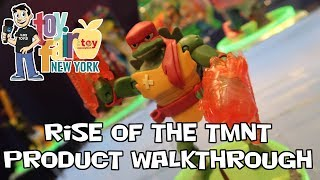 Rise of the Teenage Mutant Ninja Turtles Figure Product Walkthrough at Toy Fair 2018