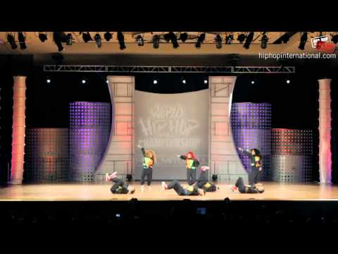 Philippine Allstars (Philippines) at World Hip Hop Dance Championship Semi-Finals 2012 (Adult)