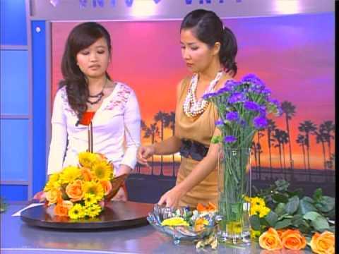 Floral Design - Hướng Dẫn Cắm Lẵng Hoa Mừng Thanksgiving