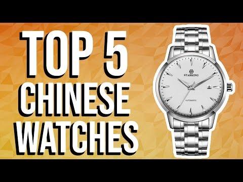 Top 5 Best Value For Money Chinese Watches On AliExpress