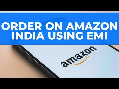 Order On Amazon India Using Emi Credit Card Ki Emi Se Kaise Order Karein