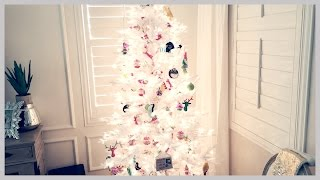 12 Days of Vlogmas Day 3&4! // Putting up the Christmas Tree!