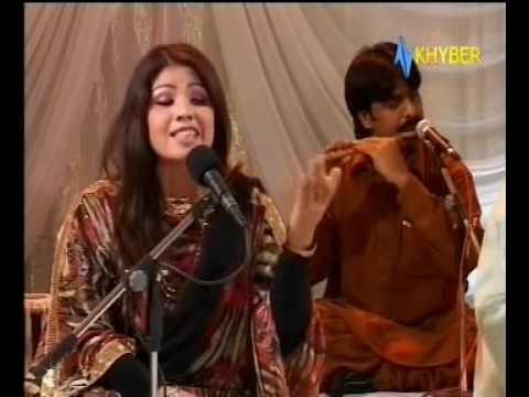 Lasoona raka guloona raka - Live, by Noor Jehan - Pashto