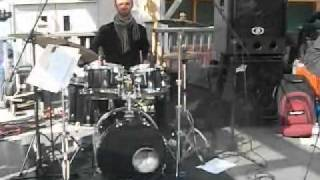 "Julien Mannoni (drums) with Tycoon Dog -""stream"" -Rock Jam style"