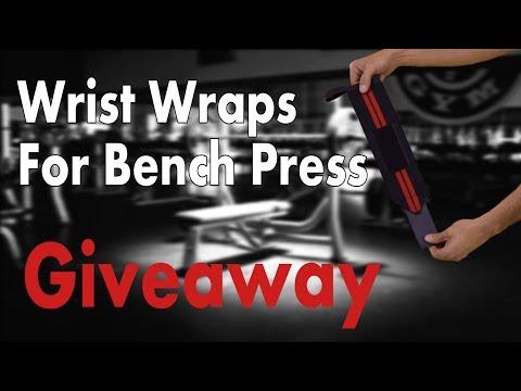 Wrist wraps bench press Giveaway! WinWristWraps.info