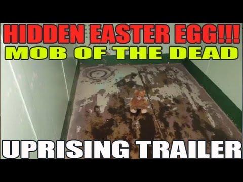 Mob of the Dead HIDDEN TEDDY BEAR IN TRAILER Uprising DLC Map