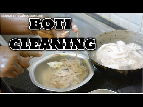 How to Clean Boti Perfectly - Goat Intestine Cleaning Intense - Clean Lamb Intestine