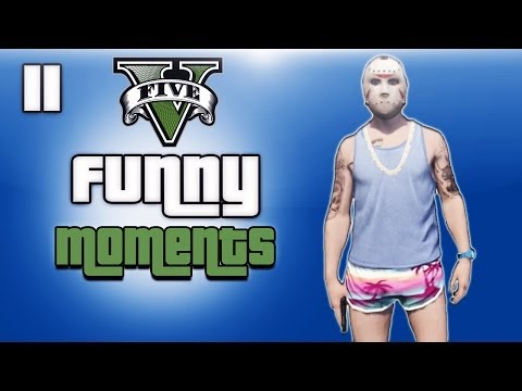 GTA 5 Online Funny Moments Ep. 11 (Beach...