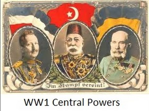 Central Powers WW1 (Great Powers)
