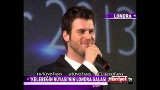 Kıvanç Tatlıtuğ in the Premiere of Kelebeğin Rüyası in London ~ 21.02.2013