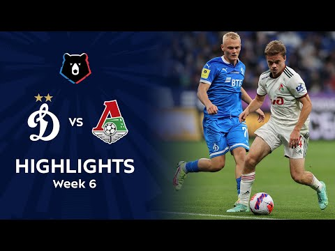 Dinamo Moscow Lokomotiv Moscow Goals And Highlights