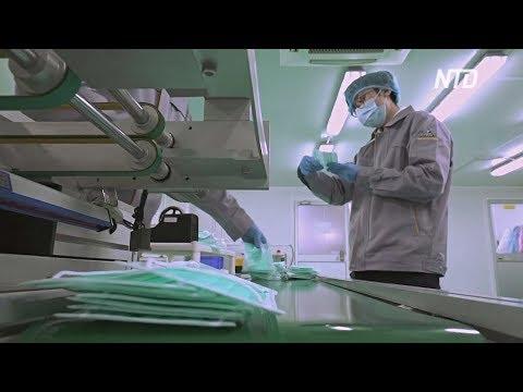 Ответ на коронавирус: житель Гонконга открыл первую фабрику медицинских масок