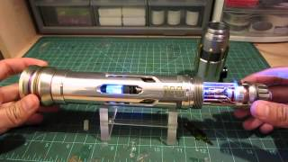 "ArkLight Arsenal Custom Lightsabers: ""Masada"" MHS Custom with Epic Reveal G-Core by Goodman"