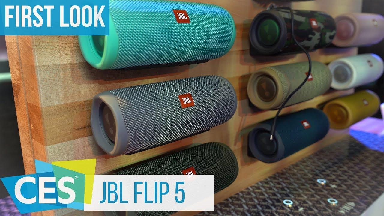 jbl flip 5 erster eindruck kurzer vergleich mit flip 4 ces2019 youtube. Black Bedroom Furniture Sets. Home Design Ideas