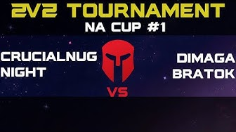 [Dimaga @BratOK ] vs [CrucialNug + Night] Grand Finals - 2v2 Tournament - Starcraft 2