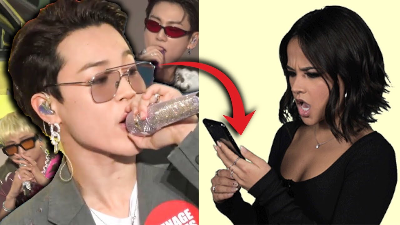 Becky G REACTS to BTS Chicken Noodle Soup Performance! [Jungkook, Jimin, RM cover her part!] Muster