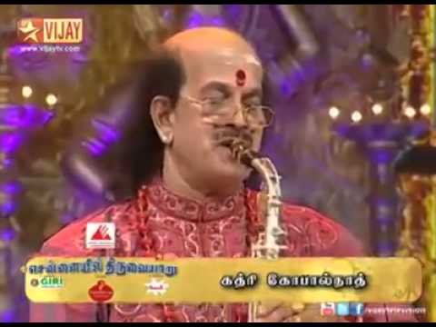 Harivarasanam kadri gopalnath