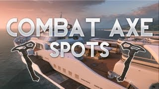 Hijacked Combat Axe Spots (Tomahawk Spots) | Search & Destroy/Domination | Black Ops 2