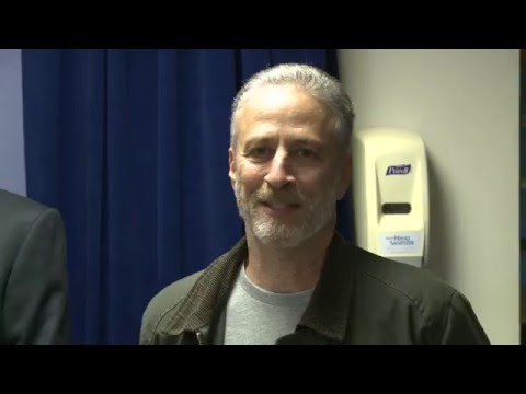 Jon Stewart Explains Why He Visits War Zones