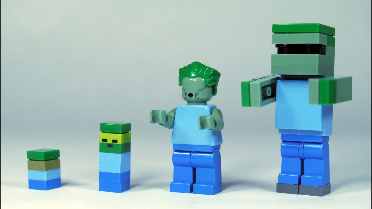 Lego Minecraft Youtube