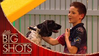 Will and Aston Make A Dynmaic Duo On This Dog Course | Little Big Shots