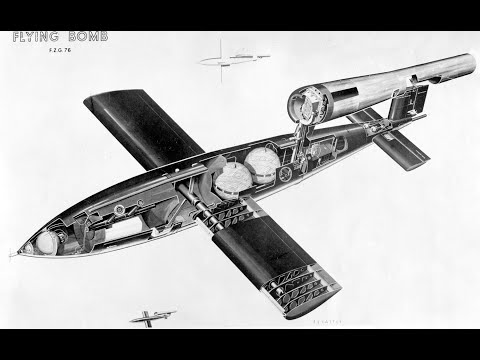 German V1 Flying rocket instructional video