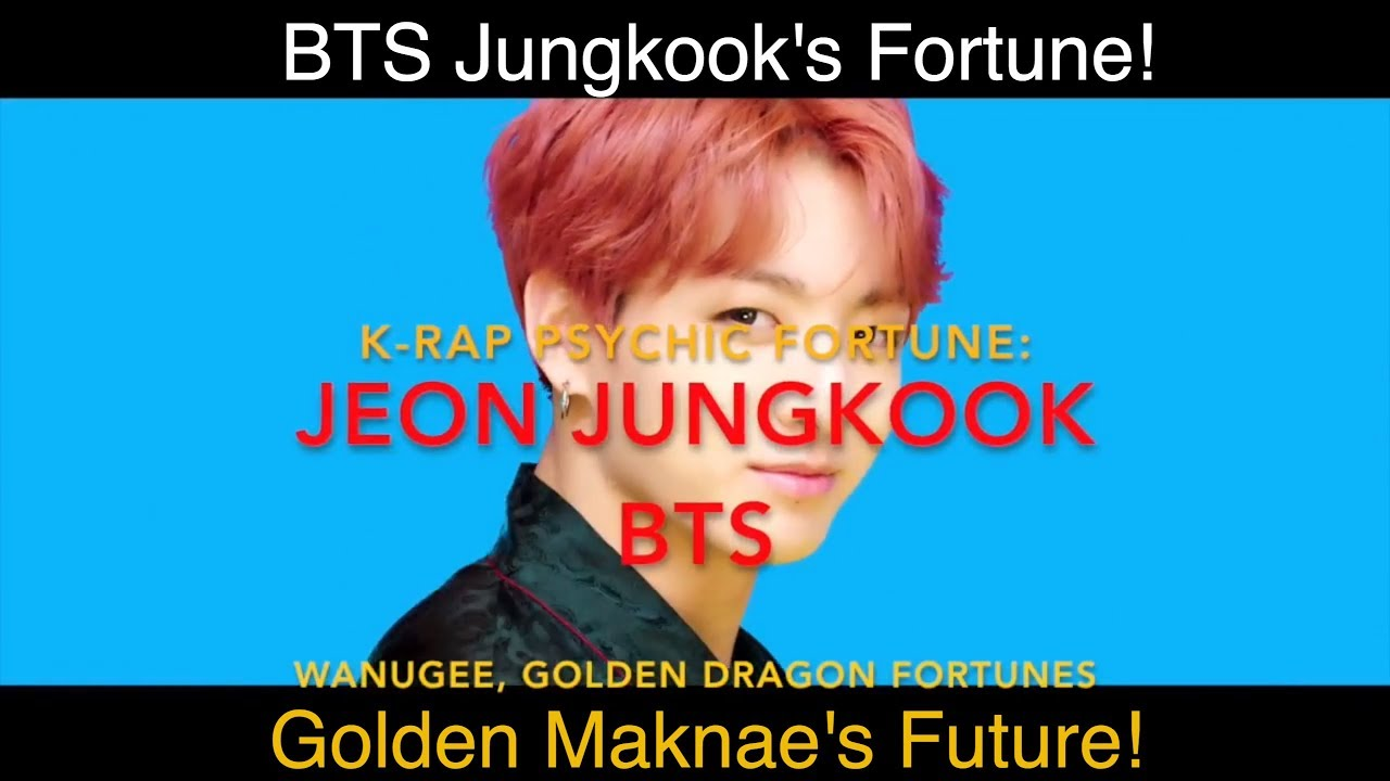 Junkook of BTS! K-Rap Fortune Reading! Kpop Predictions 2018/2019! by K-Rap  Psychic
