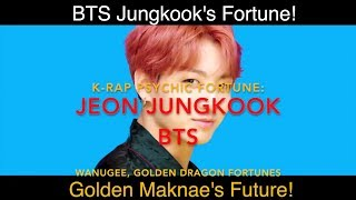 Junkook of BTS! K-Rap Fortune Reading! Kpop Predictions 2018/2019! by K-Rap  Psychic