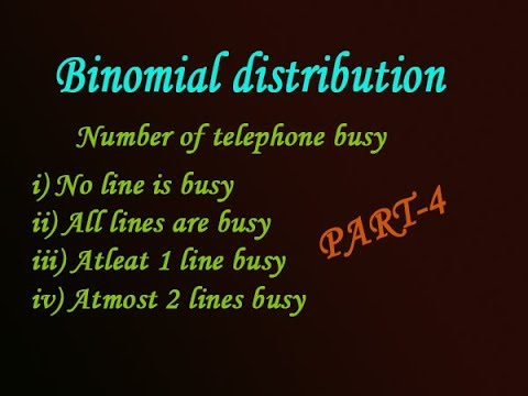 Probability of Binomial distribution explain in easy steps good example(PART-4)