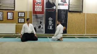 suwari waza shomen uchi kotegaeshi [TUTORIAL] Aikido basic technique