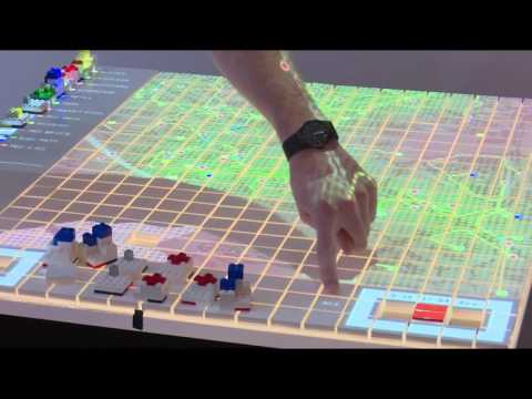 Demonstration of CLC-MIT's Tangible Interactive Modelling
