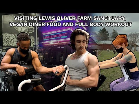 Hidden Farm Sanctuary in Long Island, the BEST Low Key Vegan Diner & Group Full Body Workout