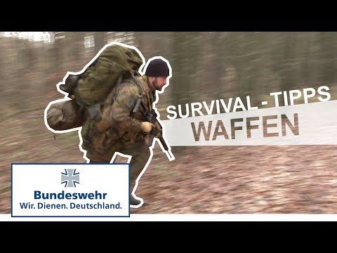 Survival Tipps #4: Provisorische Waffe - Bundeswehr
