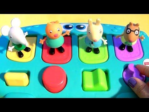Brinquedo Pop-up Peppa Pig Baby Surpresas Casa Surpresa
