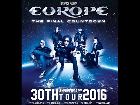 Europe - The Final Countdown 30th Anniversary Show - Live In Rome 2016 ( Full Concert )