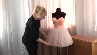 Как соединить корсет с юбкой? Обзор мастер класса